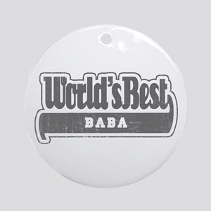 WB Grandpa [Turkmen] Ornament (Round)